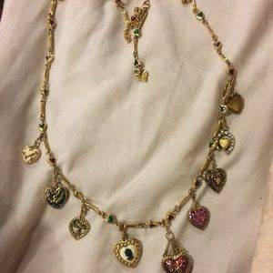 Joan rivers necklace with 9 charms